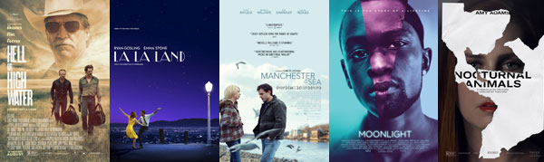 San Diego 2016 Film Nominations